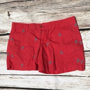 Old Navy Embroidered Anchor Shorts 6